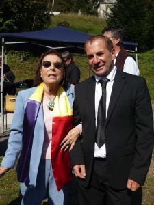Frédéric DEBELY et Aurélia FREIRE-MOYA le 25 septembre 2011